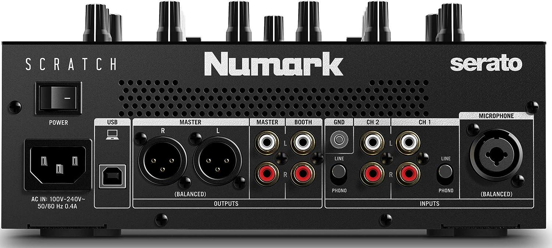 Amazon.com: Numark Scratch | Mezclador de dos canales para ...