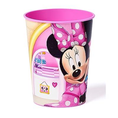 Minnie Mouse Bowtique 16 oz Plastic Party Cup, Party Supplies: Toys & Games