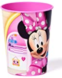American Greetings Minnie Mouse Bowtique 16 oz Plastic Party Cup, Party Supplies