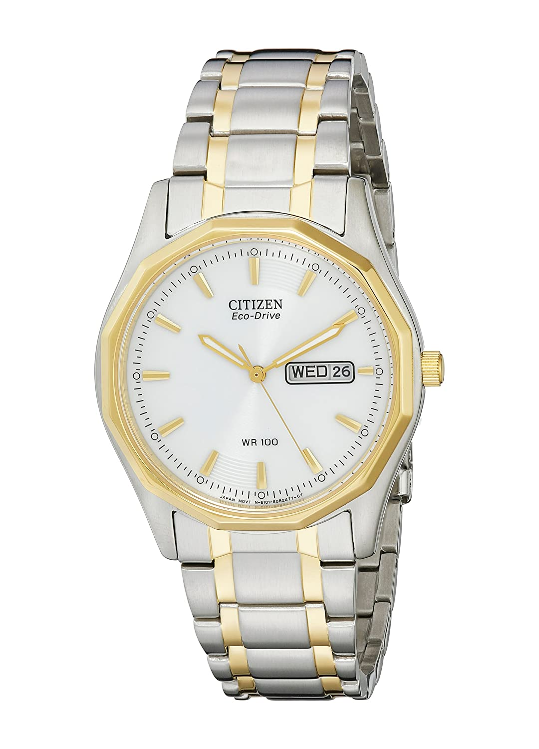 Citizen BM8434-58A - Reloj de Pulsera Hombre, Color Plata: Citizen: Amazon.es: Relojes