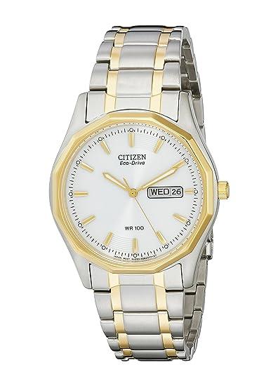 Citizen BM8434-58A - Reloj de Pulsera Hombre, Color Plata