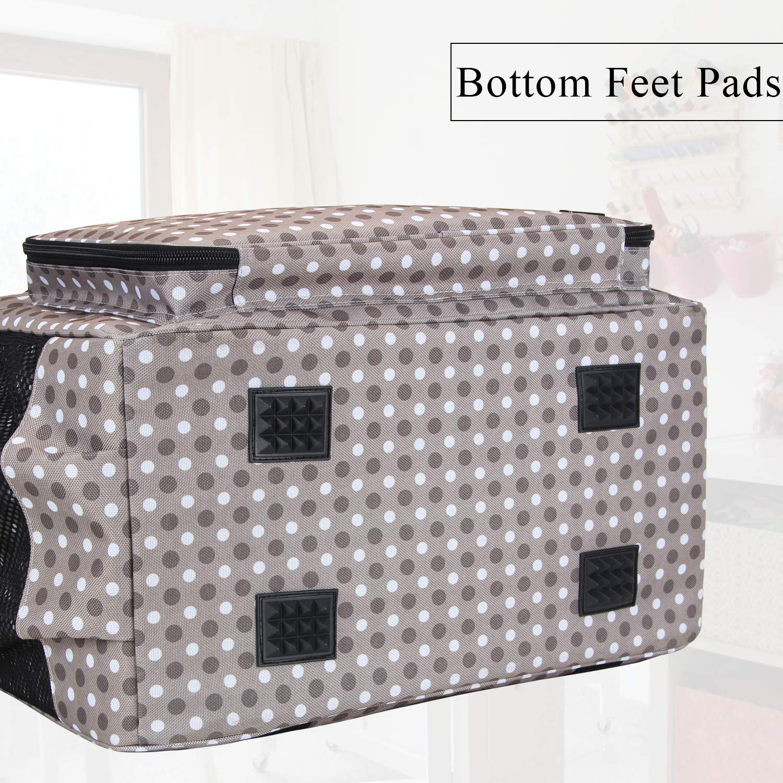 Amazon.com: Teamoy - Bolsa para máquina de coser, bolsa de ...