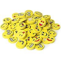 Mr. Pen- Erasers, Pack of 64, Emoji Eraser, Pencil Erasers, Erasers for Kids, School Supplies, Mini Eraser Pencil for…