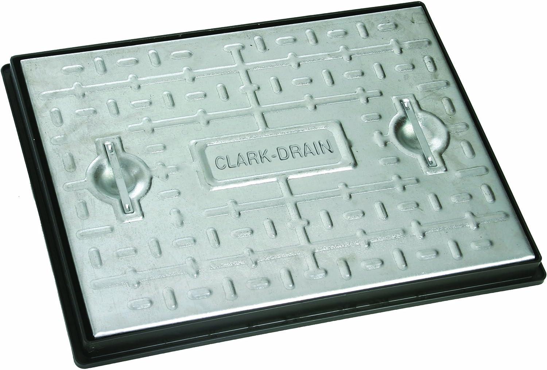 10T nominale All/ée /égout Inspection Coque Couvercle Clark Drain 600/x 450/mm en acier galvanis/é Pc6cg