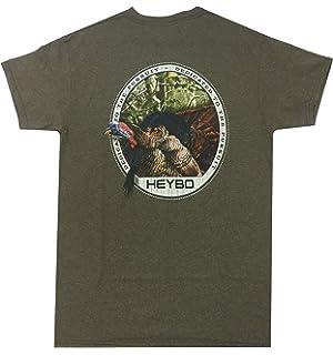 Heybo YOUTH  Short Sleeve T-Shirt Youth Large Size 14-16