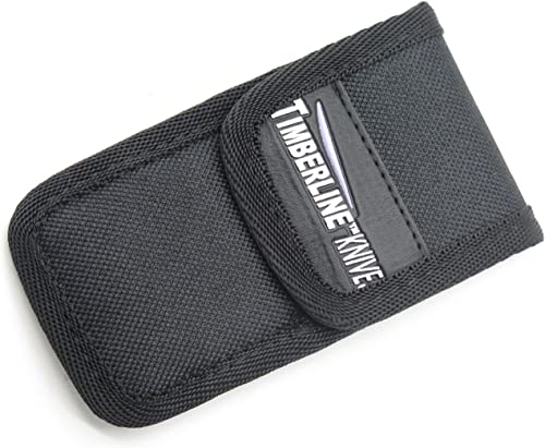 Timberline Small Medium Black Nylon Folding Pocket Knife Sheath