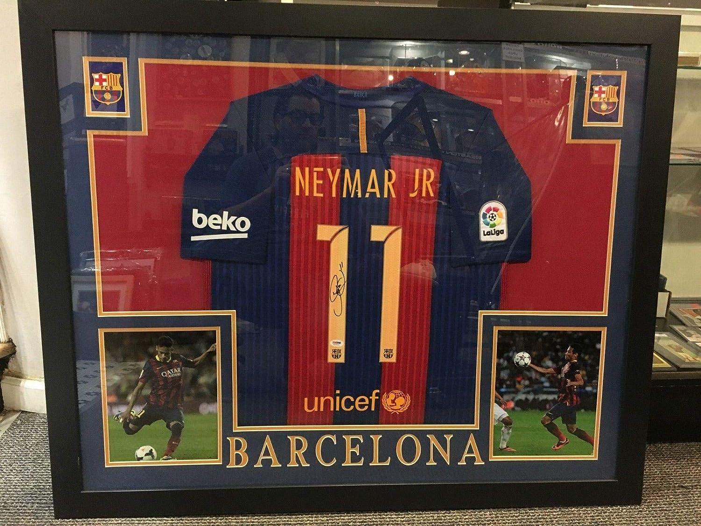 official photos 54b96 c93a7 Neymar Da Silva-santos Jr. Barcelona Signed 44x36'' Framed ...