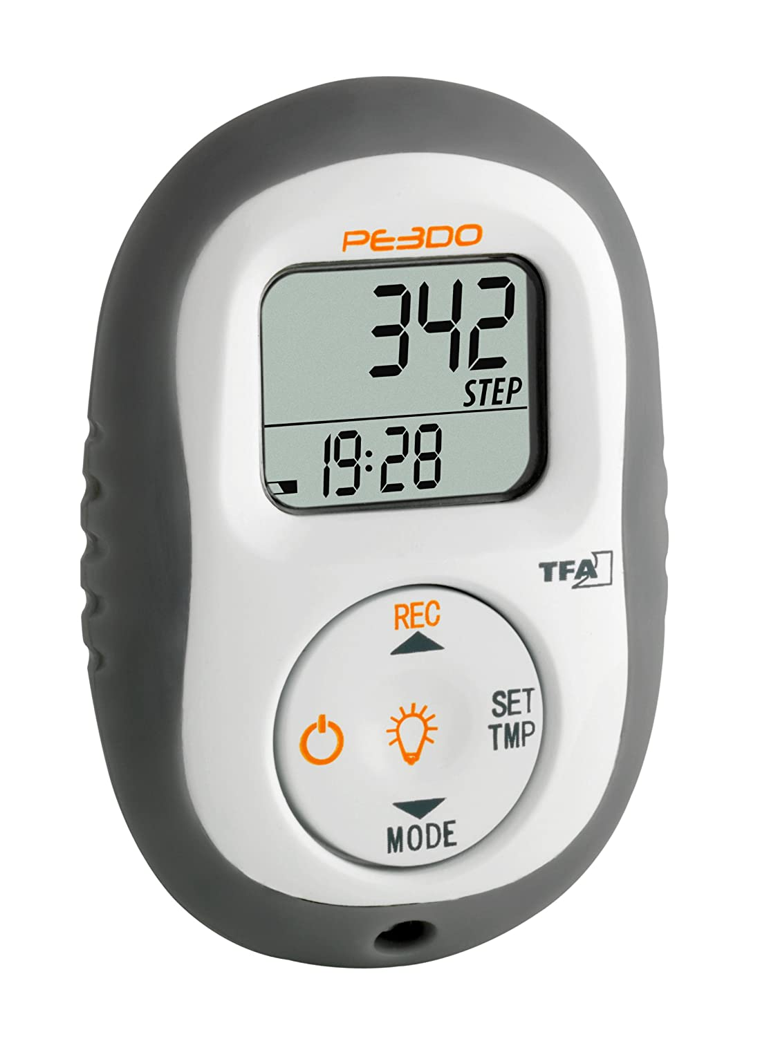 Blooming Weather 42.200299999999999 Electronic Pedometer Black
