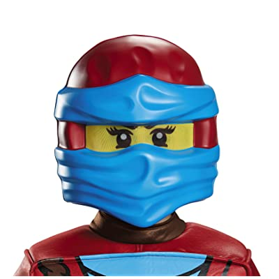 Disguise NYA Ninjago Lego Mask, One Size Child: Toys & Games