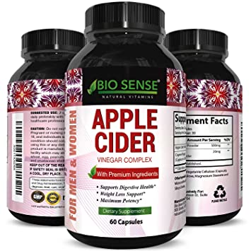 Amazon Com Apple Cider Vinegar Pills For Weight Loss Extra