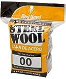 Red Devil 0322 Steel Wool, 00 Very Fine,  8 Pads