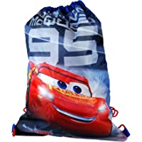 Disney Pixar® Cars 3 Official Lightning McQueen 95 Junior Draw String Sports Bag Trainer Sports Swimming Beach Bag Boys 41 x 30cm Ages 3+ Years Official Licensed Pixar Cars Back To School Range