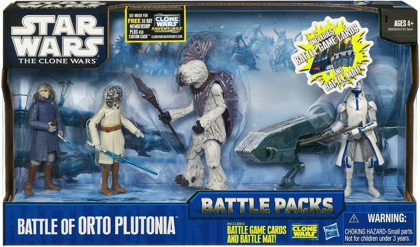 Hasbro Star Wars 26958 Battle of Orto Plutonia - Tablero de juego ...