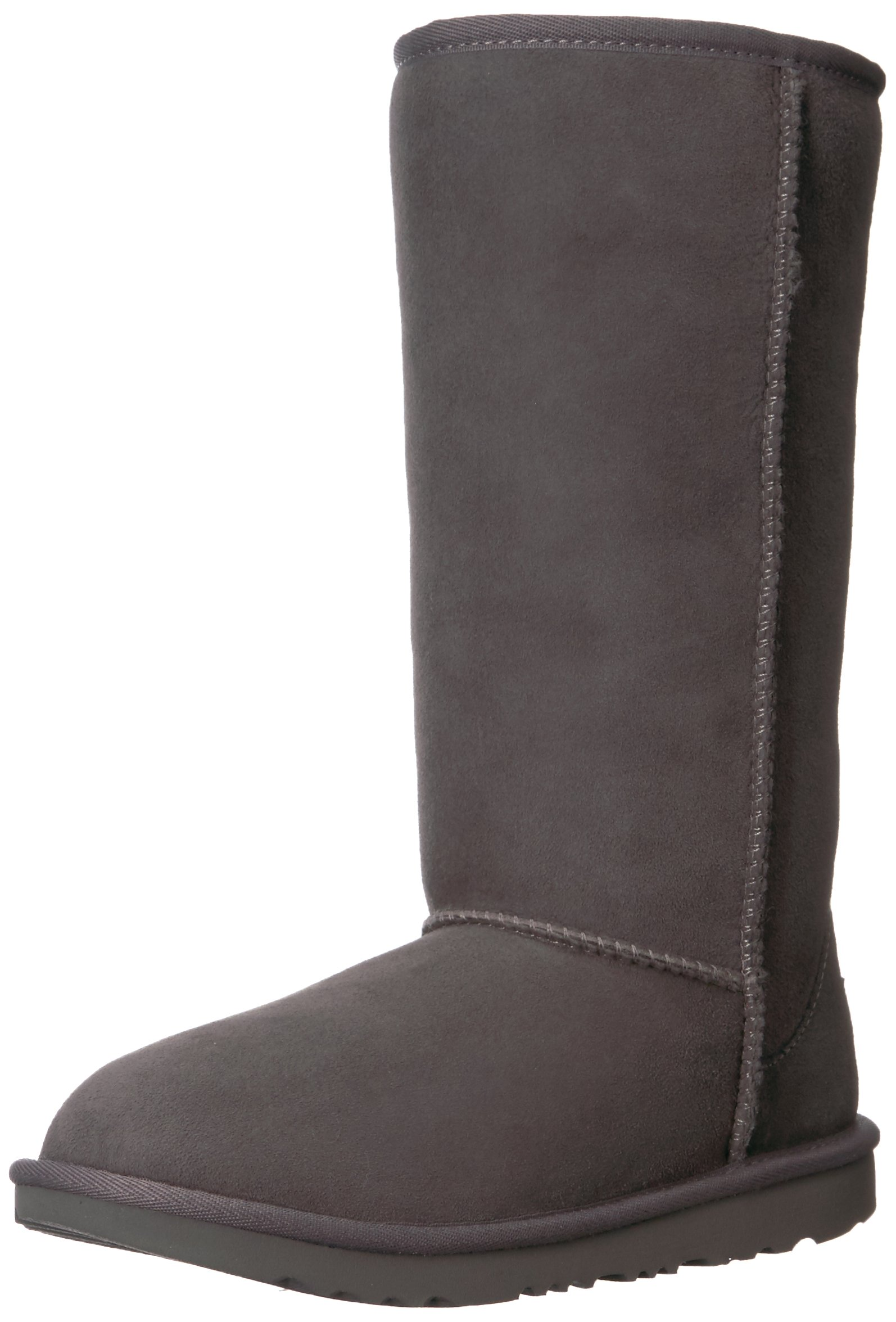 UGG Kids K Classic Tall II Pull-on Boot, Grey, 4 M US Big Kid