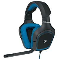 Deals on Logitech G430 7.1 DTS Headphone: X and Dolby Surround Sound