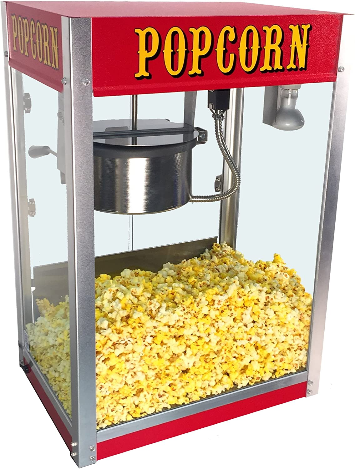 Amazon Com Paragon Theater Pop 8 Ounce Popcorn Machine For Professional Concessionaires Requiring Commercial Quality High Output Popcorn Equipment Sports Outdoors