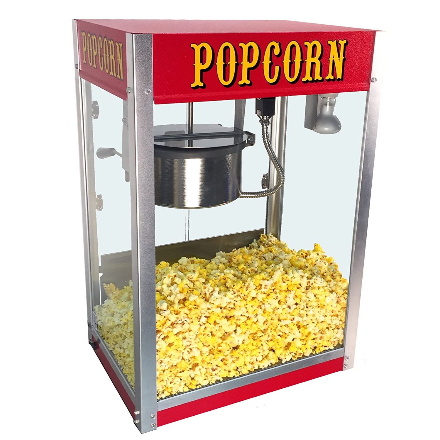 Paragon Theater Pop 8 Ounce Popcorn Machine for Professional Concessionaires Requiring Commercial Quality High Output Popcorn Equipment