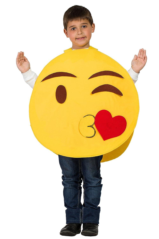 Disfraz Emoti (7-9 AÑOS): Amazon.es: Juguetes y juegos