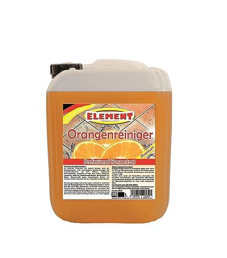 Naranja limpiador concentrado 5L quitamanchas orangenöl desengrasador suelo limpiador universal limpiador Fuerza limpiador
