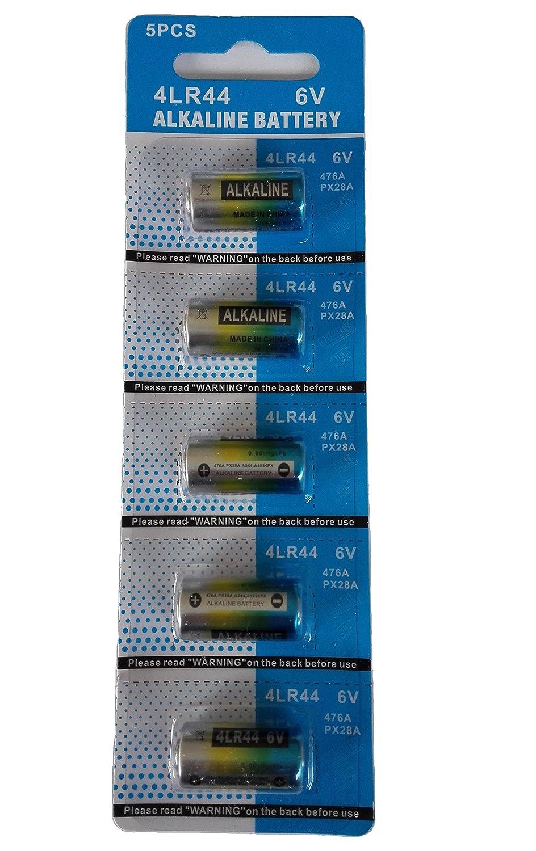 EX-ENEGY 4LR44 476A PX28A 6V Alkaline Batteries 5 Pack EX-ENERGY 4LR44-5PC