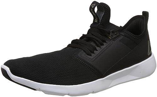 476700f33e260f Reebok Men s Plus Lite 2.0 Black White Pewter Running Shoes-9 UK ...