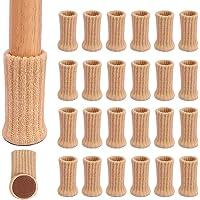 """Calcetines Silla , Ezprotekt Calcetines Elásticos para Silla Mesa y Muebles, Diámetro de Ajuste de 1 """"a 2"""" con Pack de…"""