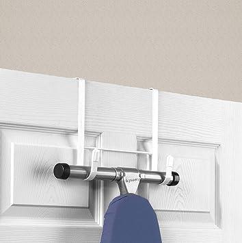Cartener Hang Over Door Ironing Board Holder Hanger Rack Closet Organizer Steel Bracket