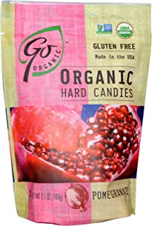 product image for Go Organic Hard Candy - Pomegranate - 3.5 Oz - Case of 6
