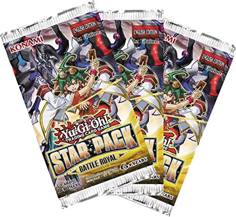 Yu Gi Oh! Star Pack Battle Royal Booster Packs (Pack of 3) English Edition: Amazon.es: Juguetes y juegos