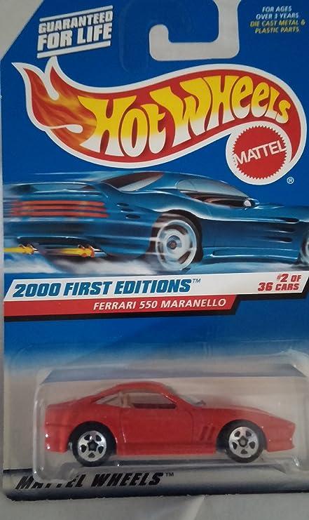 2000  HOT WHEELS FIRST EDITIONS FERRARI 550 MARANELLO