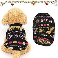 Suéter para Mascotas,Perro Gato Sudadera,Mascota Cálido Abrigo de Invierno,Suéter para mascota,Ropa para mascotas…