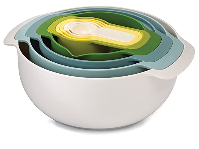 Nesting Bowl Measuring Cup Set