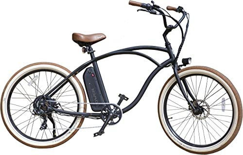 Tower Beach Bum Electric Beach Cruiser – 500W and 48V Battery