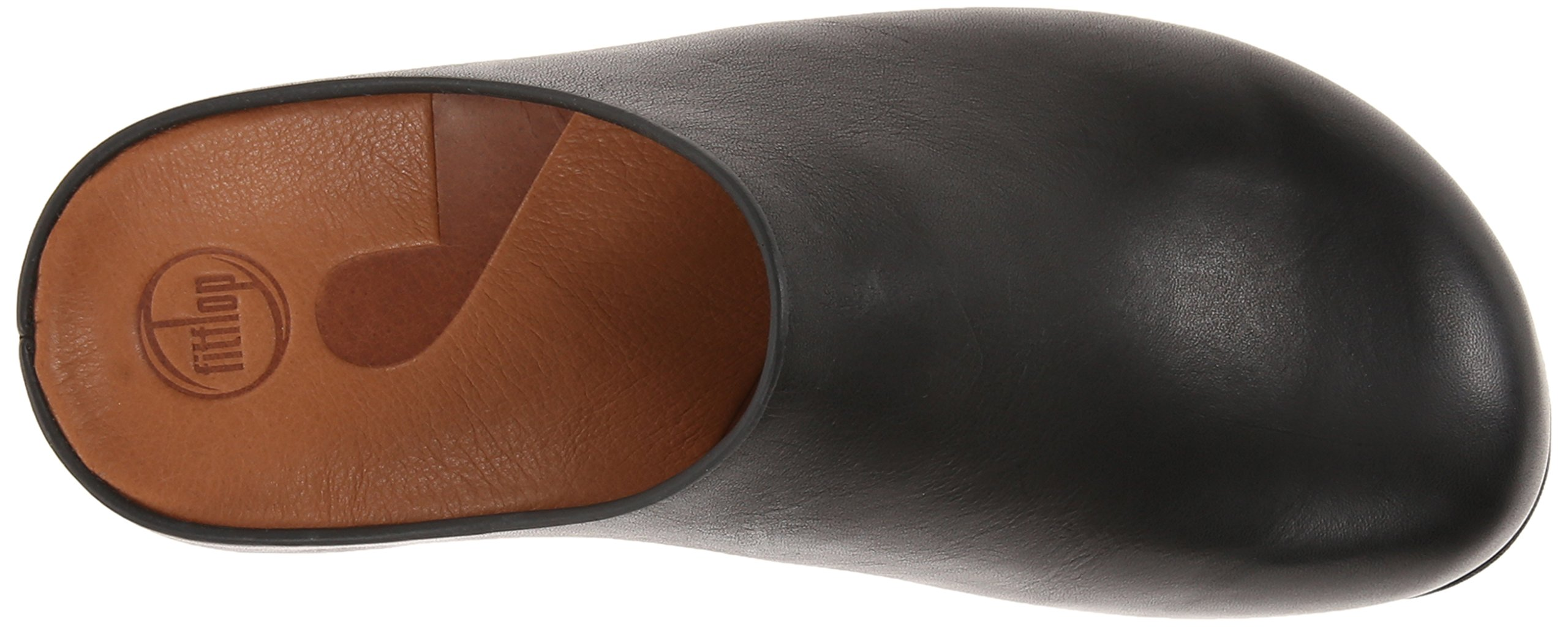 FitFlop Women's Shuv Leather Clog,Black,5 M US by FitFlop (Image #8)