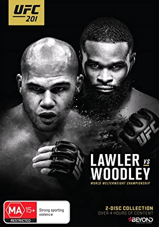 Ufc 201 Lawler Vs Woodley Amazonde Robbie Lawler Tyron Woodley
