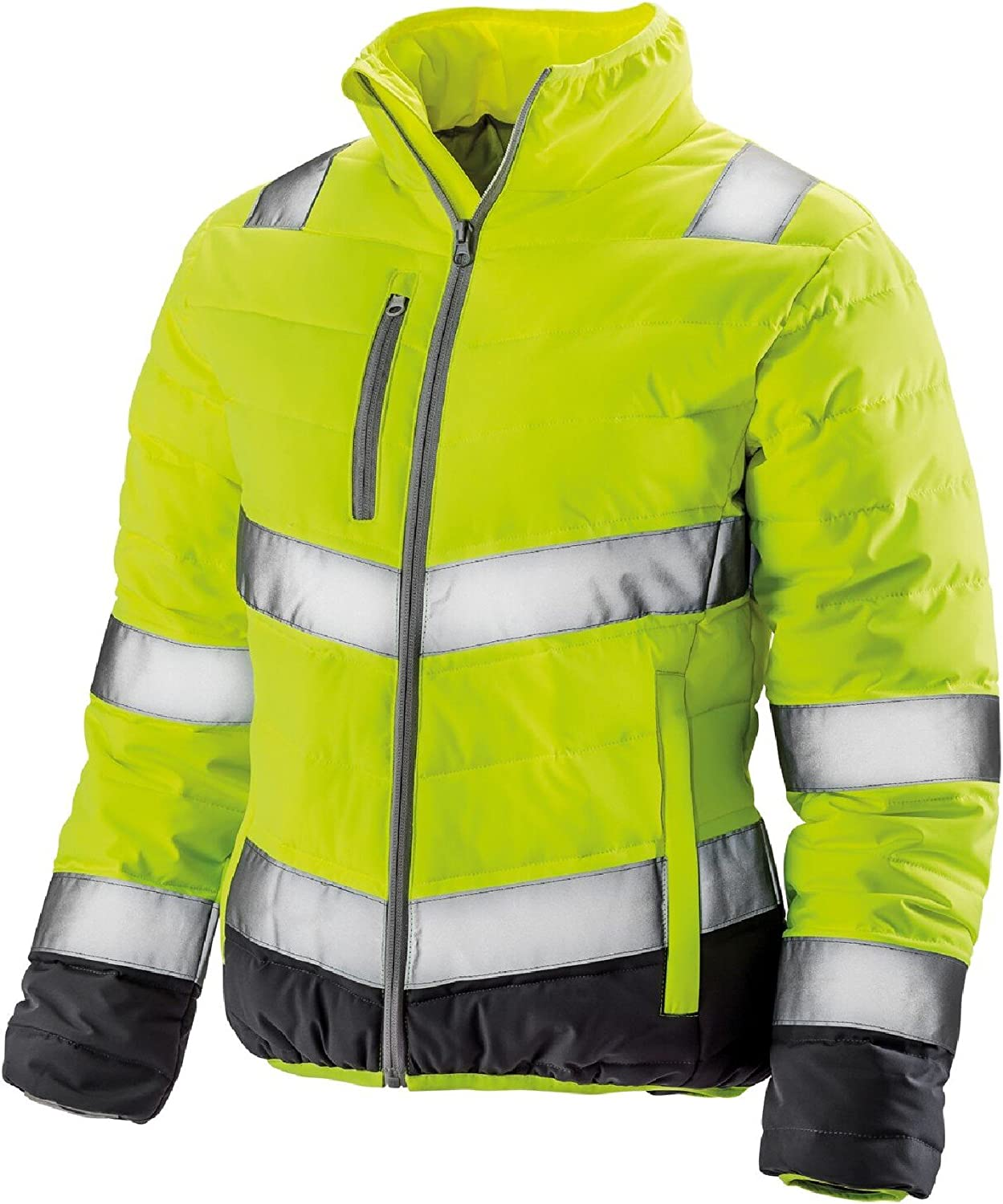 Result Safeguard Womens//Ladies Soft Padded Safety Jacket