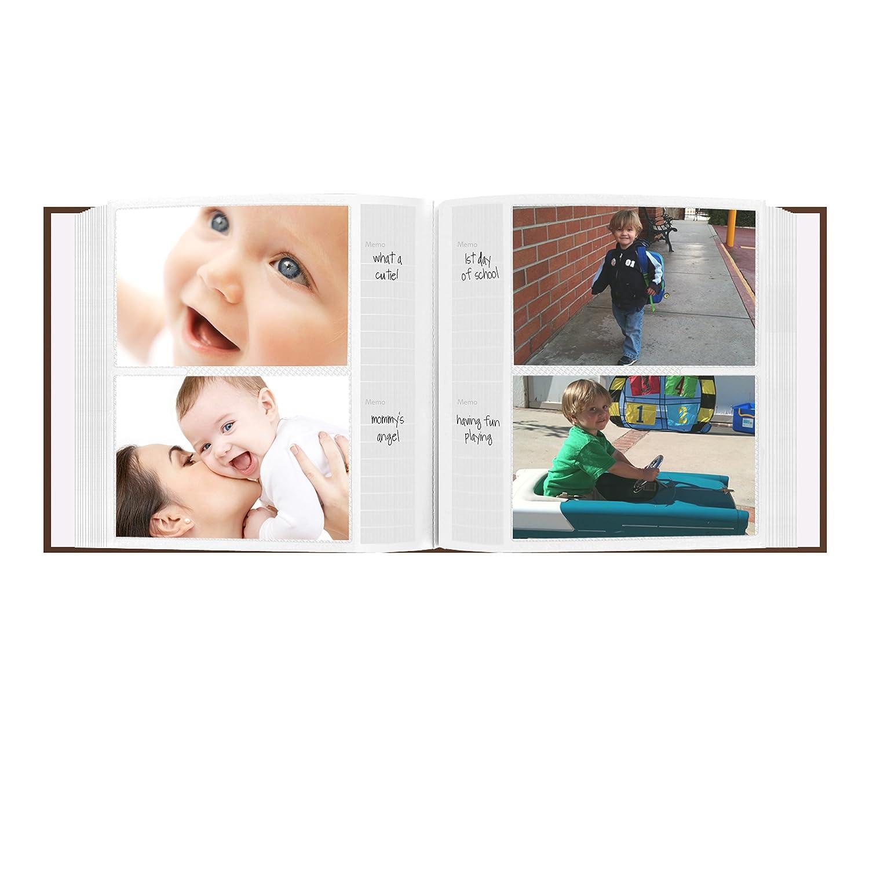 Pioneer Photo Albums EV-246FB//O Baby Owl Printed Designer Frame Cover Photo Album Pink 200-Pocket