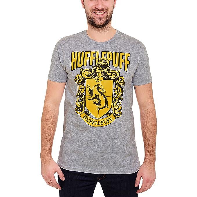 Elbenwald Harry Potter Para Hombre de La Camiseta de La Cresta de de Algodón: Amazon.es: Ropa y accesorios