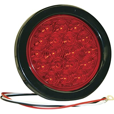 Buyers Products 5624118 4 Inch Red Round Stop/Turn/Tail Light Kit With 18 LEDs: Automotive