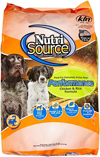 Tuffy S Pet Food 131523 Nutrisource Performance Dry Food For Dog
