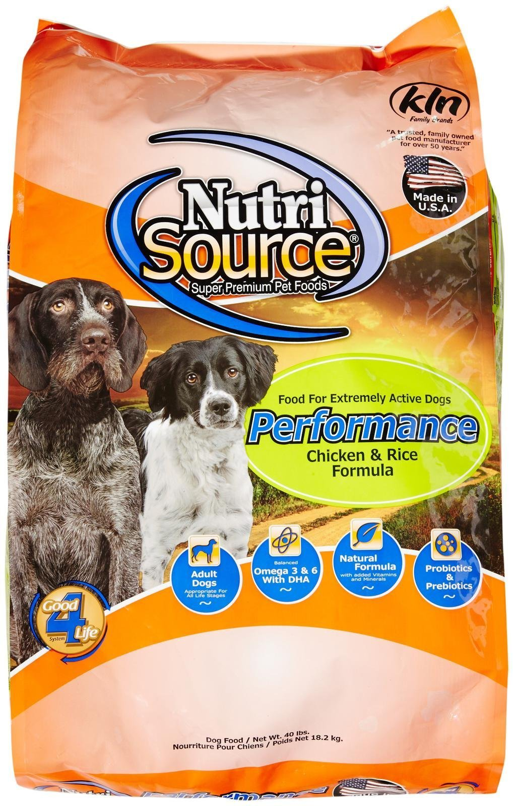 Tuffy'S Pet Food 131523 Nutrisource Performance Dry Food For Dogs, 40-Pound by Tuffy's Pet Food