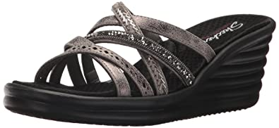 3ae9c974ae3f1 Skechers Cali Women s Rumbler Wave-New Lassie Slide Sandal