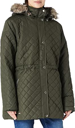 Regatta Zella Insulated Quilted Lined Jacket With Detachable Hood Vrouwen Jas