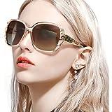 FIMILU サングラス レディース 偏光レンズ uvカット人気 運転用 大きめ 小顔紫外線対策 女性用メガネ