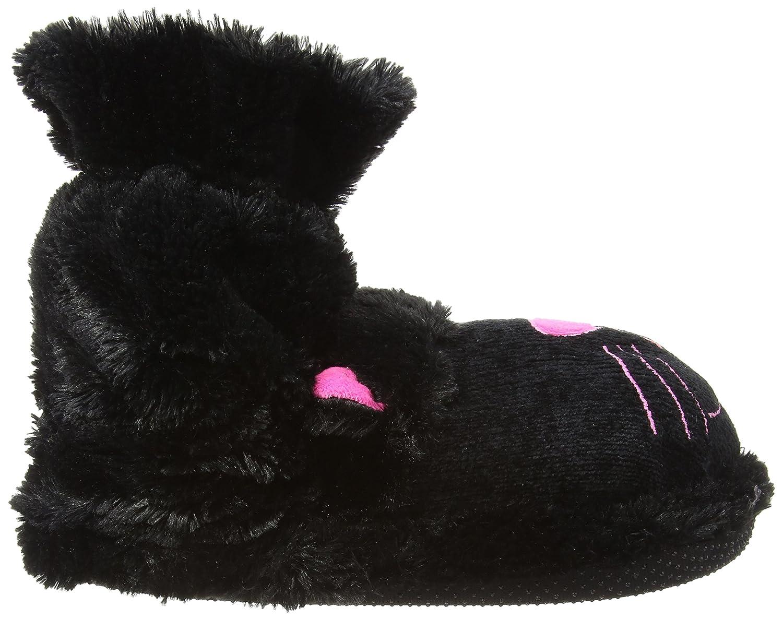 Zapatos de Aroma Home Diversión Para Pies de Gato Negro, Unisex Adulto Zapatillas de Parte Trasera Abierta, Color Negro, Talla 40 2/3 EU amazon-shoes el-negro
