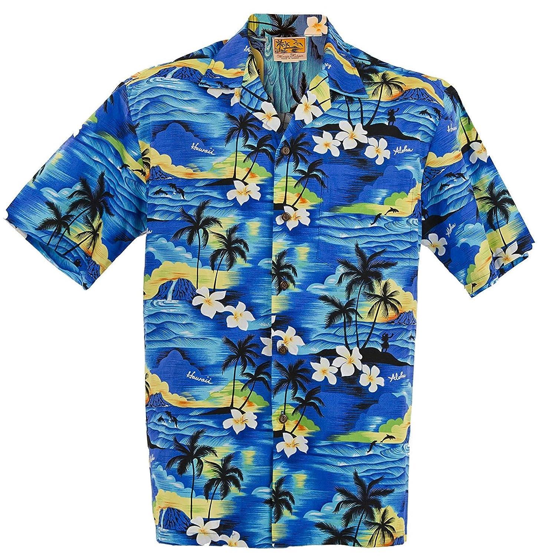 193a05215ca  4-7 day DELIVERY TIME  Elegant all cotton men s Hawaiian Aloha Shirt  Hawaiian Shirts are designed with slight viarations to provide a unique  Local Hawaiian ...