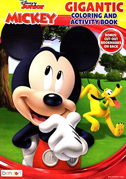 Amazon.com: Disney's Mickey Mouse & Minnie Mouse Plus Friends ... | 606x429