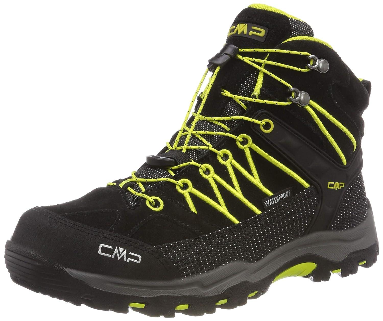 Noir noir-limeade 83bg 38 EU CMP  - Rigel Mid - Chaussures de Randonnée - Mixte Enfant