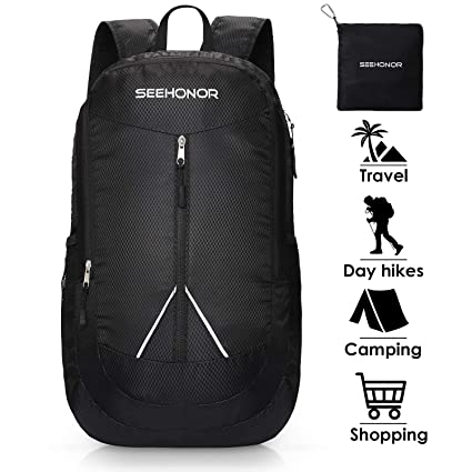 e39c6163eecc Amazon.com   SEEHONOR 35L Packable Lightweight Backpack Hiking ...