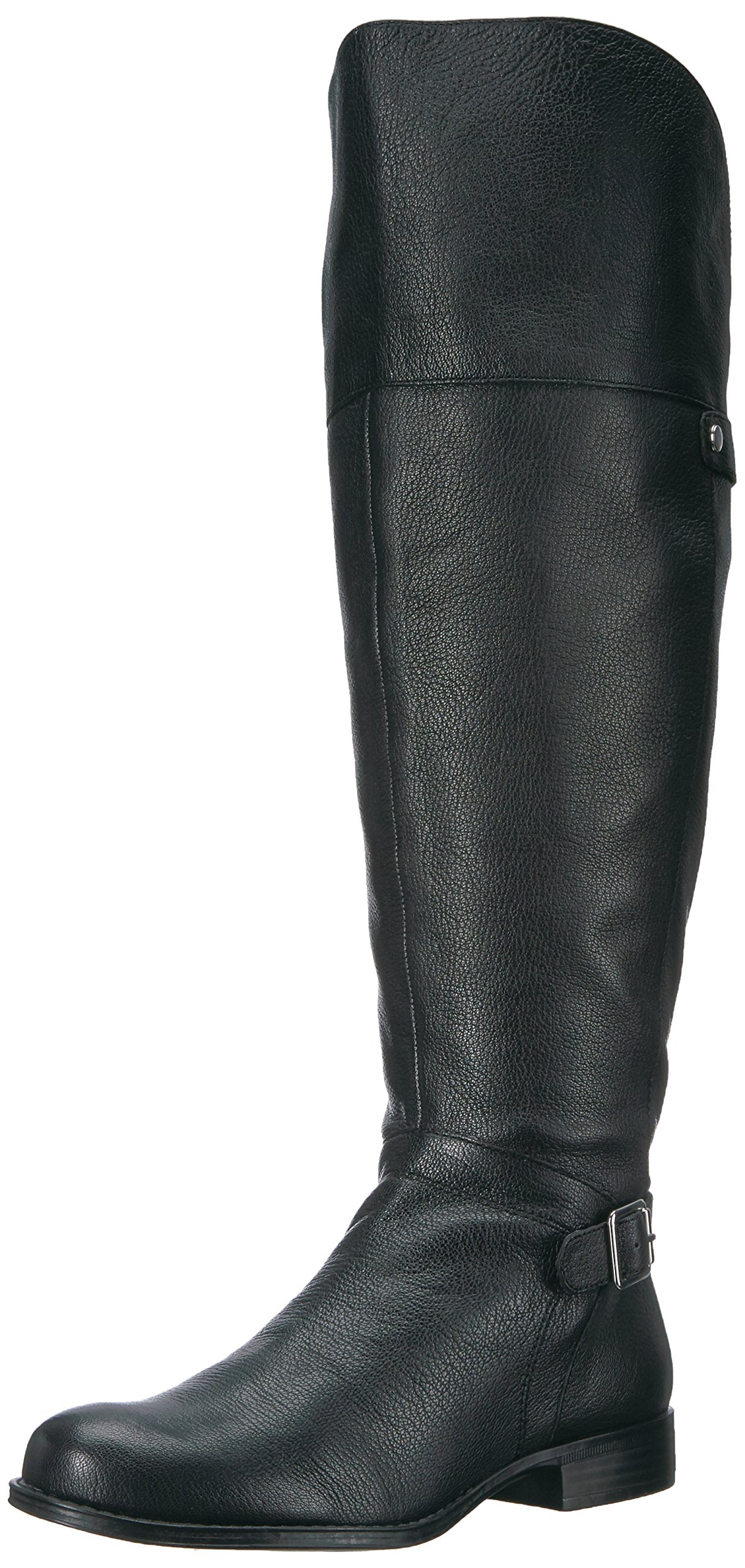 Naturalizer Women's January Wc Riding Boot, Black, 11 2W US